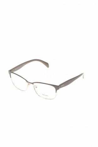 Рамки за очила Prada, Цвят Сив, Цена 182,07лв.