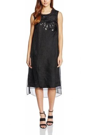 Рокля Almost Famous, Размер S, Цвят Черен, 100% коприна, Цена 105,12лв.