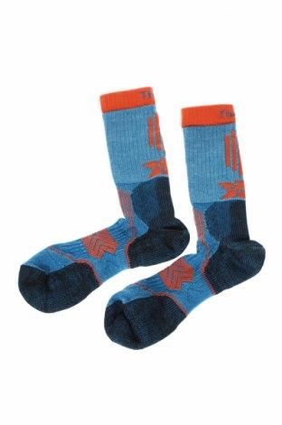 Спортни чорапи Tharlos Experia, Размер L, Цвят Син, Полиестер, полиамид, еластан, мерино, Цена 24,00лв.