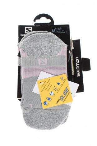 Športové ponožky  Salomon, Veľkosť M, Farba Sivá, Cena  10,82€