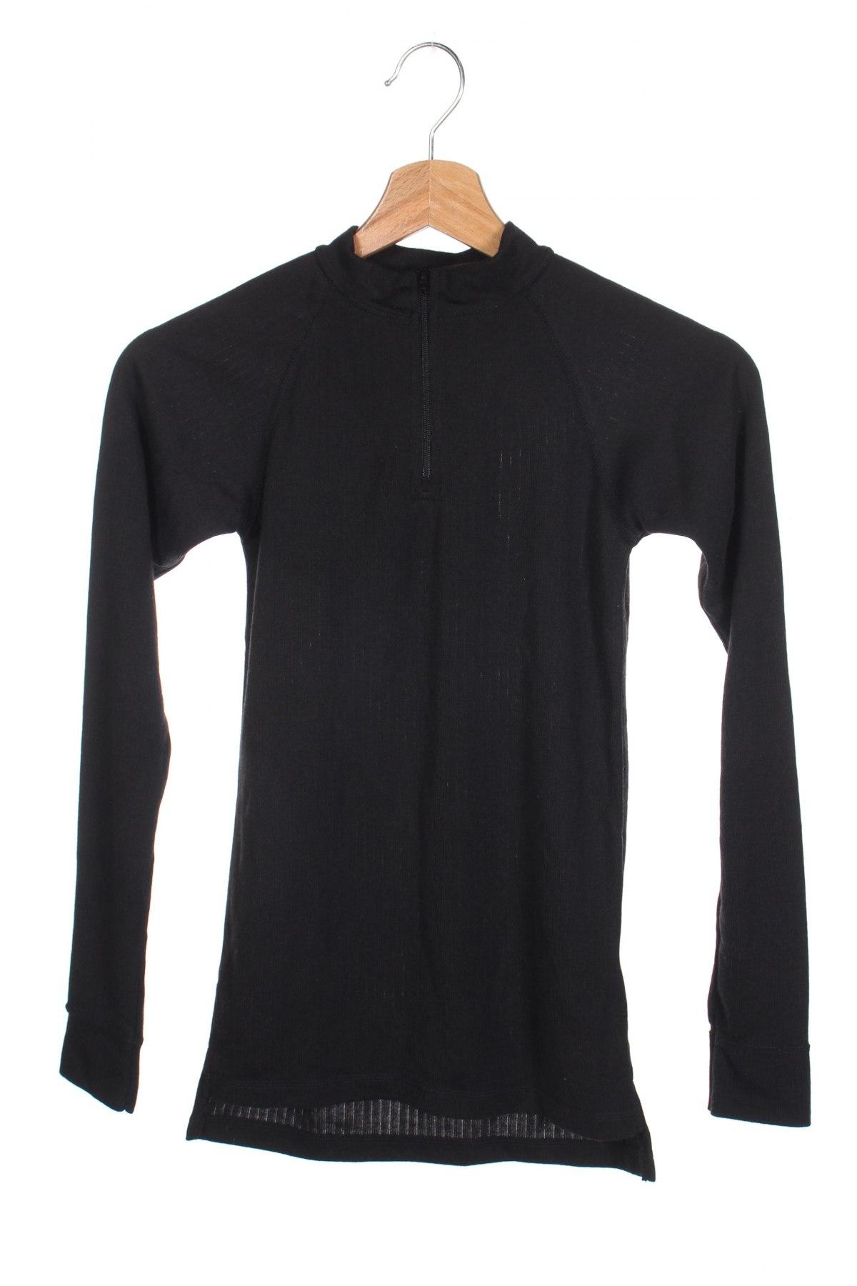 Детска спортна блуза Trespass, Размер 8-9y/ 134-140 см, Цвят Черен, Полиестер, Цена 6,48лв.