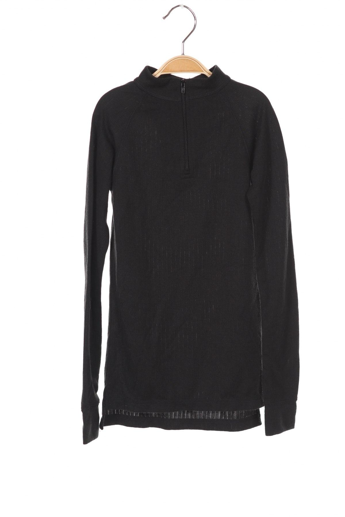 Детска спортна блуза Trespass, Размер 4-5y/ 110-116 см, Цвят Черен, Полиестер, Цена 6,48лв.