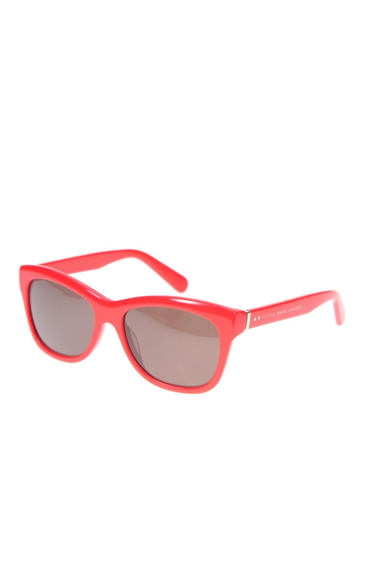 Детски слънчеви очила Little Marc Jacobs, Цвят Червен, Цена 52,15лв.