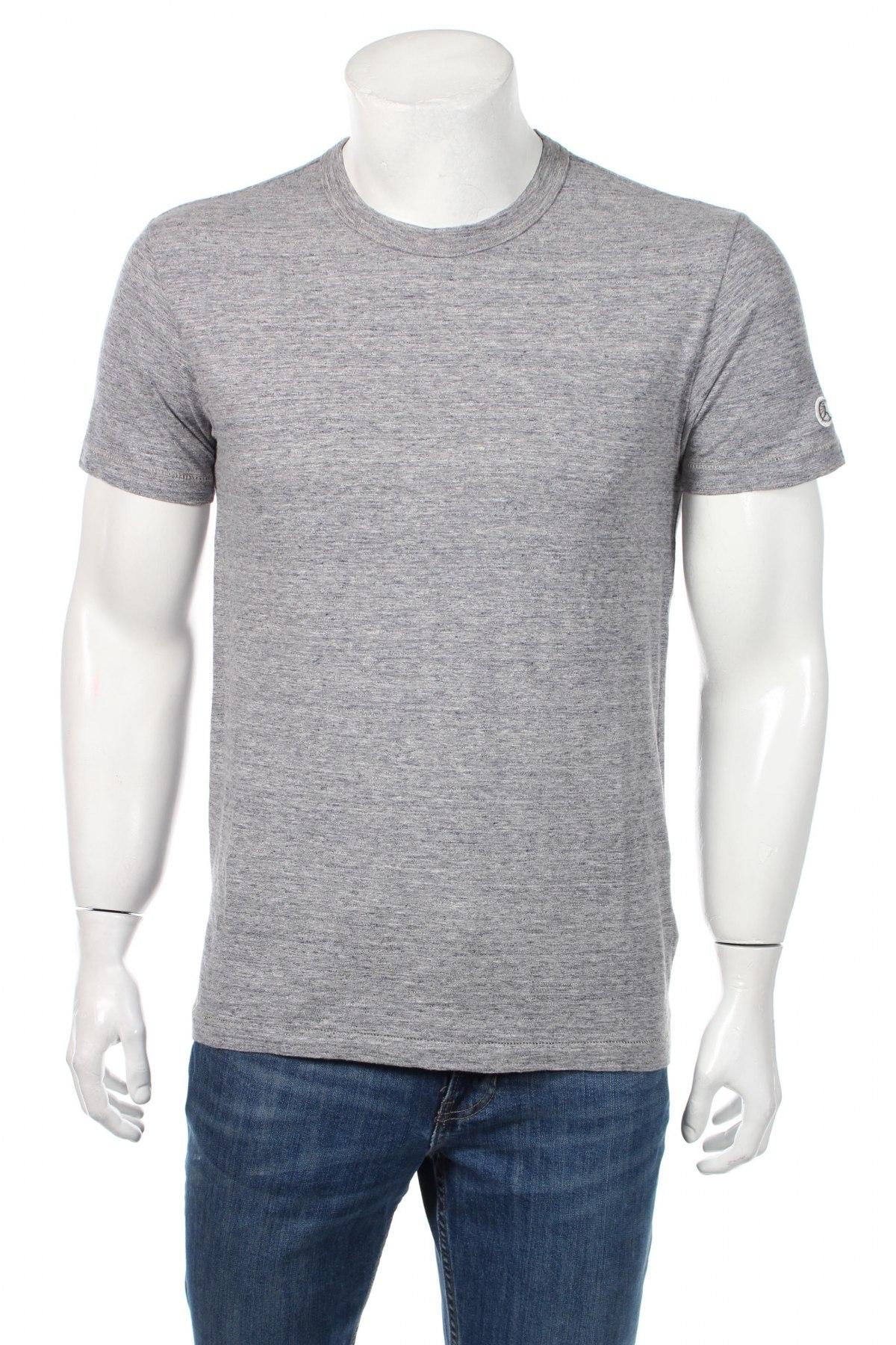 Tricou de bărbați Champion, Mărime S, Culoare Gri, Bumbac, Preț 55,26 Lei