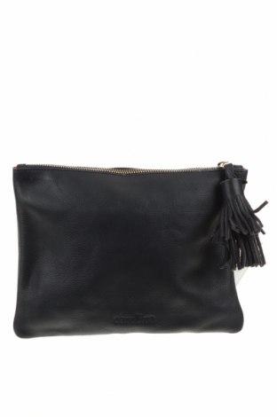 Дамска чанта Carolina, Цвят Син, Естествена кожа, Цена 109,52лв.