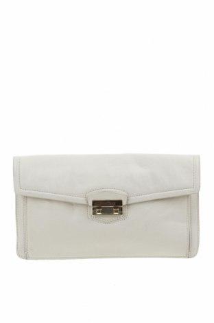 Дамска чанта Cole Haan, Цвят Бял, Естествена кожа, Цена 51,45лв.