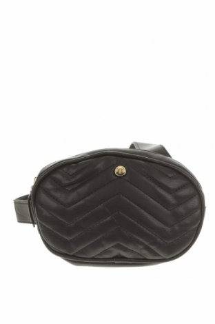 Чанта за кръст Seed, Цвят Черен, Еко кожа, Цена 17,64лв.