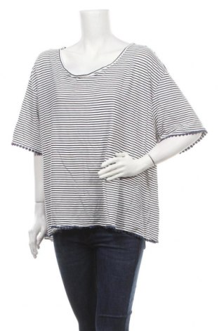 Дамска блуза, Размер 3XL, Цвят Бял, 95% вискоза, 5% еластан, Цена 14,28лв.