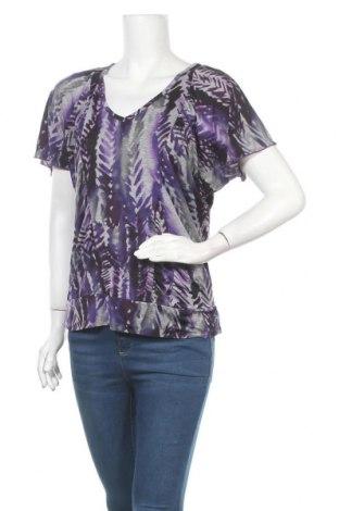 Дамска блуза Ab Studio, Размер S, Цвят Многоцветен, 93% полиестер, 7% еластан, Цена 9,45лв.