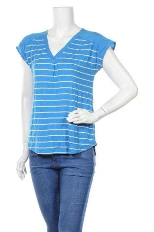 Дамска блуза Adrienne Vittadini, Размер S, Цвят Син, 96% вискоза, 4% еластан, Цена 45,05лв.