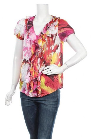 Дамска блуза Agb, Размер M, Цвят Многоцветен, Цена 7,14лв.