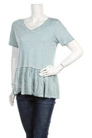 Дамска блуза Alya, Размер L, Цвят Син, 75% вискоза, 25% полиестер, Цена 17,96лв.