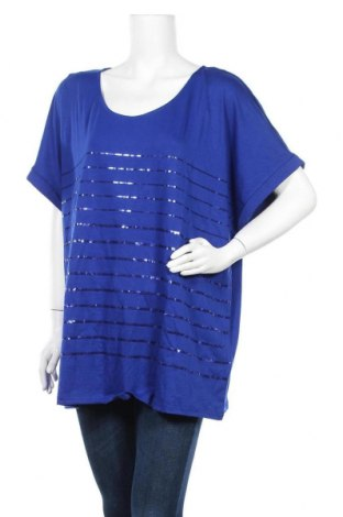 Γυναικεία μπλούζα Autograph, Μέγεθος XXL, Χρώμα Μπλέ, 65% πολυεστέρας, 30% βισκόζη, 5% ελαστάνη, Τιμή 19,74€