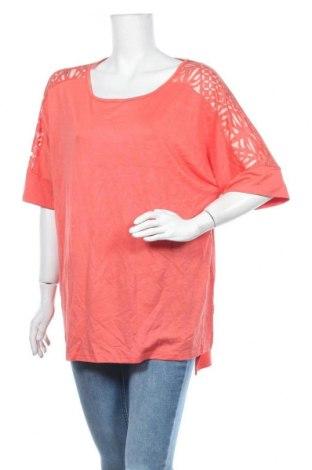 Дамска блуза Ava & Viv, Размер XL, Цвят Оранжев, 83% вискоза, 14% полиестер, 3% еластан, Цена 15,12лв.