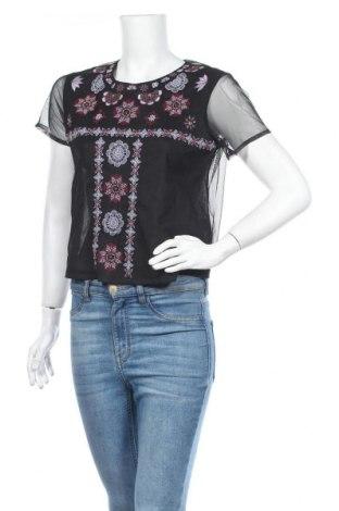 Дамска блуза Blanco, Размер M, Цвят Черен, Полиестер, Цена 22,26лв.