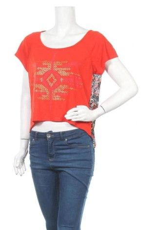 Дамска блуза Bongo, Размер L, Цвят Червен, Полиестер, вискоза, Цена 4,20лв.