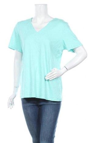 Дамска блуза Carroll Reed, Размер L, Цвят Син, Памук, Цена 12,60лв.