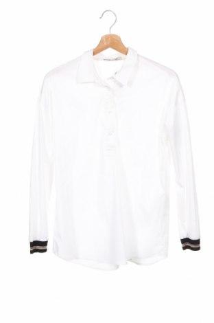 Dámská halenka Comma,, Velikost XS, Barva Bílá, 73% bavlna, 23% polyester, 4% elastan, Cena  440,00Kč