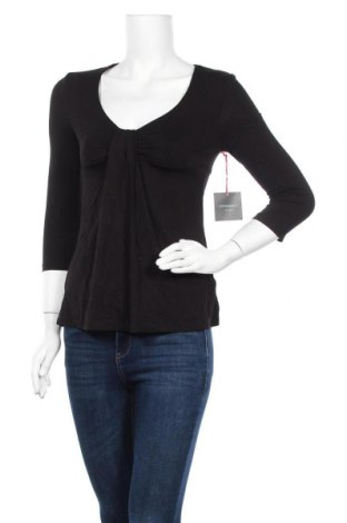 Дамска блуза Cynthia Rowley, Размер S, Цвят Черен, 95% вискоза, 5% еластан, Цена 17,06лв.