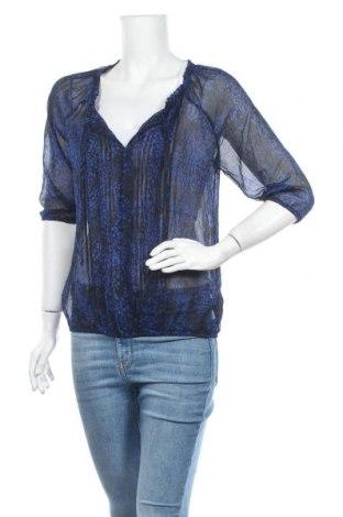 Дамска блуза Express, Размер M, Цвят Син, Полиестер, Цена 3,00лв.