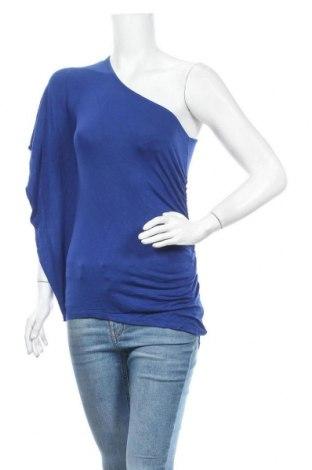 Дамска блуза Express, Размер S, Цвят Син, 95% вискоза, 5% еластан, Цена 3,00лв.