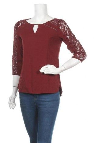 Дамска блуза Express, Размер S, Цвят Червен, 96% полиестер, 4% еластан, Цена 7,88лв.
