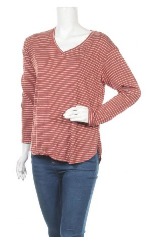 Дамска блуза Faded Glory, Размер M, Цвят Червен, 65% вискоза, 35% полиестер, Цена 6,08лв.