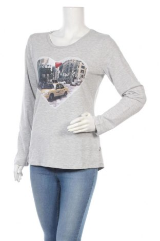 Дамска блуза Frieda & Freddies, Размер M, Цвят Сив, 95% памук, 5% еластан, Цена 25,50лв.