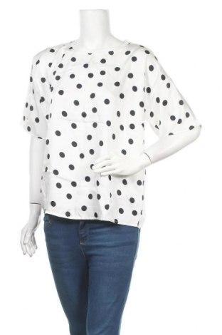 Γυναικεία μπλούζα Gestuz, Μέγεθος L, Χρώμα Λευκό, Πολυεστέρας, Τιμή 46,01€