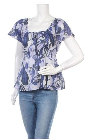 Дамска блуза H&M, Размер S, Цвят Многоцветен, Памук, Цена 16,50лв.