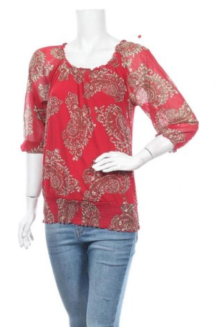 Дамска блуза INC International Concepts, Размер M, Цвят Червен, Полиамид, Цена 6,76лв.