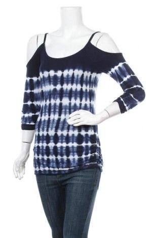 Дамска блуза INC International Concepts, Размер S, Цвят Син, Вискоза, Цена 9,45лв.