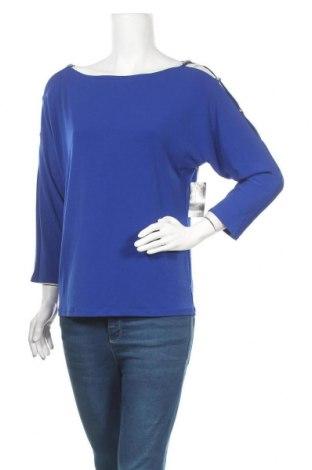 Дамска блуза INC International Concepts, Размер M, Цвят Син, 95% полиестер, 5% еластан, Цена 25,36лв.