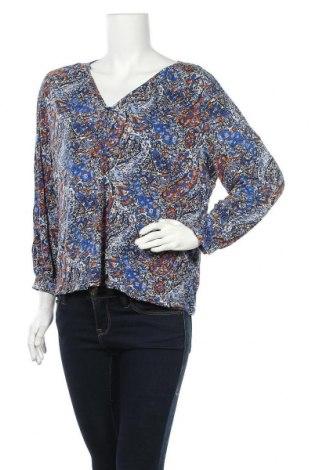 Дамска блуза Indiska, Размер L, Цвят Многоцветен, Вискоза, Цена 6,62лв.