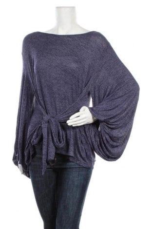 Дамска блуза JV Selection, Размер L, Цвят Син, Полиестер, памук, вискоза, еластан, Цена 17,01лв.