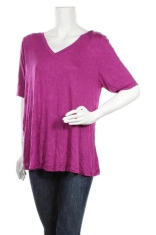 Дамска блуза Lane Bryant, Размер XL, Цвят Лилав, 96% вискоза, 4% еластан, Цена 12,60лв.