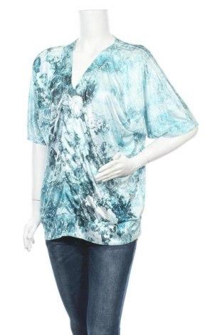 Дамска блуза Lane Bryant, Размер L, Цвят Син, Полиестер, Цена 5,88лв.