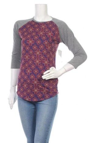 Дамска блуза LulaRoe, Размер XS, Цвят Сив, 96% полиестер, 4% еластан, Цена 10,66лв.