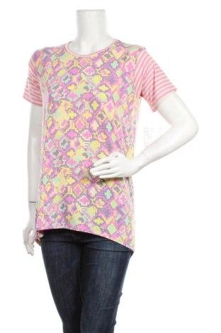 Дамска блуза LulaRoe, Размер L, Цвят Многоцветен, 95% полиестер, 5% еластан, Цена 11,76лв.