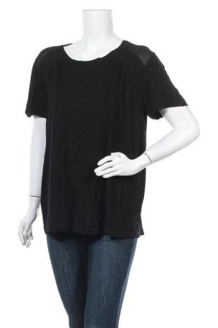 Дамска блуза Luxzuz One Two, Размер XL, Цвят Черен, 82% вискоза, 10% полиестер, 8% еластан, Цена 16,07лв.