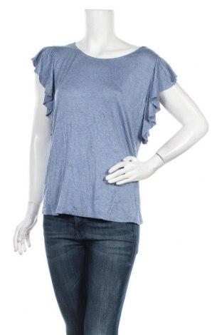 Дамска блуза Max Studio, Размер XL, Цвят Син, 95% вискоза, 5% еластан, Цена 28,93лв.