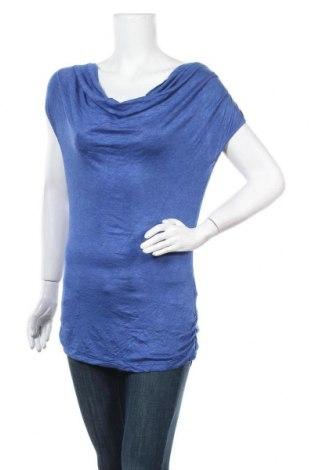 Дамска блуза Max Studio, Размер S, Цвят Син, 95% вискоза, 5% еластан, Цена 6,62лв.