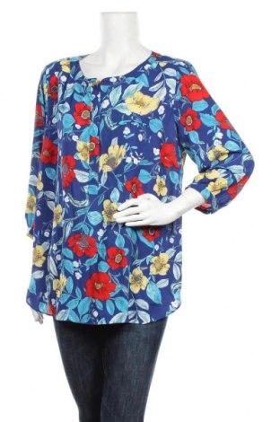 Дамска блуза NYDJ, Размер XL, Цвят Син, Полиестер, Цена 8,40лв.