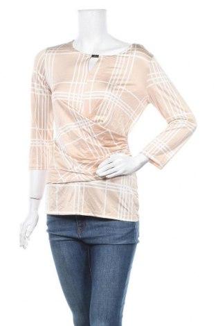 Дамска блуза New York & Company, Размер M, Цвят Бежов, 90% полиестер, 10% еластан, Цена 7,98лв.