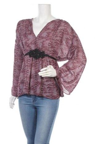Дамска блуза Nicole by Nicole Miller, Размер XL, Цвят Лилав, Полиестер, Цена 19,44лв.