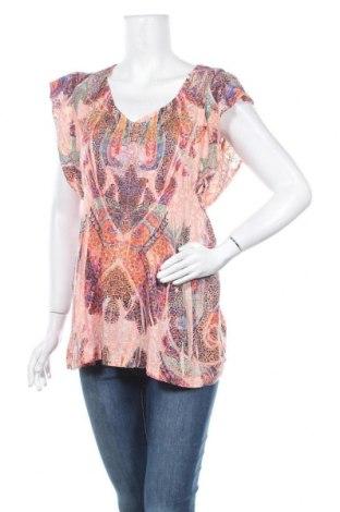 Дамска блуза One World, Размер L, Цвят Многоцветен, 50% памук, 50% полиестер, Цена 4,73лв.