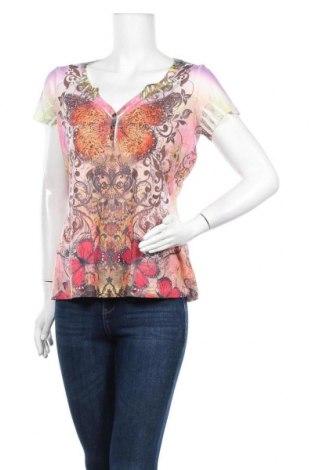 Дамска блуза One World, Размер L, Цвят Многоцветен, Полиестер, Цена 4,20лв.