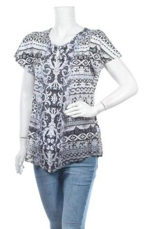 Дамска блуза One World, Размер L, Цвят Многоцветен, 95% полиестер, 5% еластан, Цена 14,28лв.