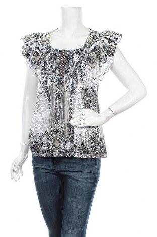 Дамска блуза One World, Размер L, Цвят Многоцветен, 100% полиестер, Цена 5,88лв.