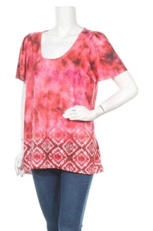 Дамска блуза One World, Размер L, Цвят Многоцветен, 95% полиестер, 5% еластан, Цена 5,15лв.